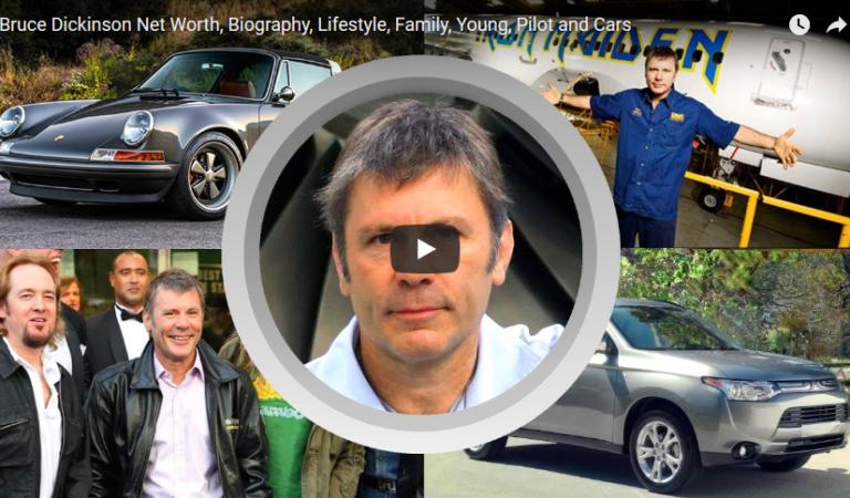Bruce Dickinson: Σπίτι, αμάξια, Jet, περιουσία, Lifestyle